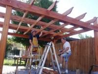 How To Build A Pergola Over A Patio - Pergola Gazebo Ideas