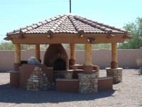 Gazebo With Fireplace Plans - Pergola Gazebo Ideas
