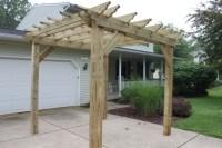 How To Build A Freestanding Pergola On A Deck - Pergola ...