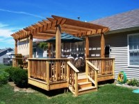 How To Build A Freestanding Pergola On A Deck - Pergola ...