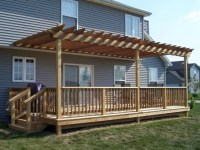 How To Build A Pergola On A Deck - Pergola Gazebo Ideas