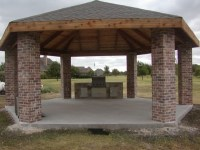 Outdoor Gazebo Plans With Fireplace - Pergola Gazebo Ideas