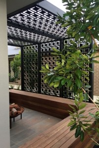 Pergola Privacy Screen - Pergola Gazebo Ideas