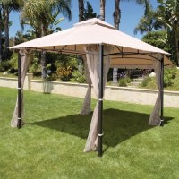 Home Depot Gazebo Canopy Replacement & Harbor Gazebo ...
