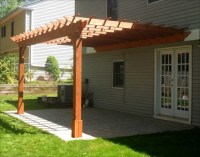 Wall Mounted Pergola Designs