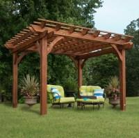 Freestanding Pergola With Canopy - Pergola Gazebo Ideas