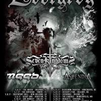 EVERGREY Upcoming N.A. Tour; SEVEN KINGDOMS, NEED, ASCENDIA Supporting