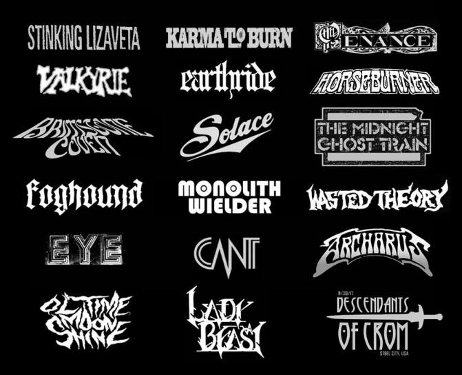 Descendants Of Crom Fest - Band Lineup