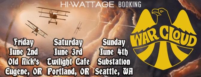 War Cloud Tour Dates