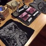 Horehound merch table - Photo by Leanne Ridgeway