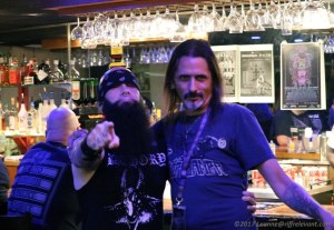 Rev. Jim Forrester (Foghound, Serpents of Secrecy) and Mark of MDDF - Photo by Leanne Ridgeway