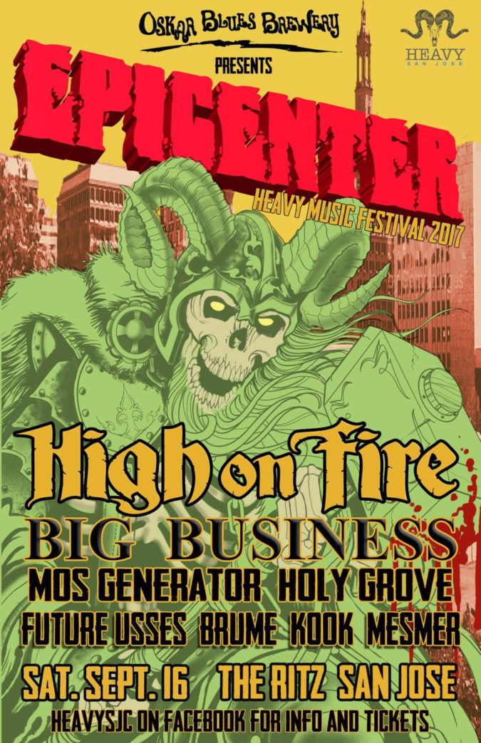 Epicenter heavy music fest 2017