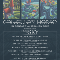 CALIGULA'S HORSE Unveils 'In Contact' Details & Live Dates