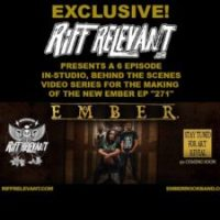 RIFF RELEVANT Presents: EMBER '271' EP In-Studio Recording Visual Series