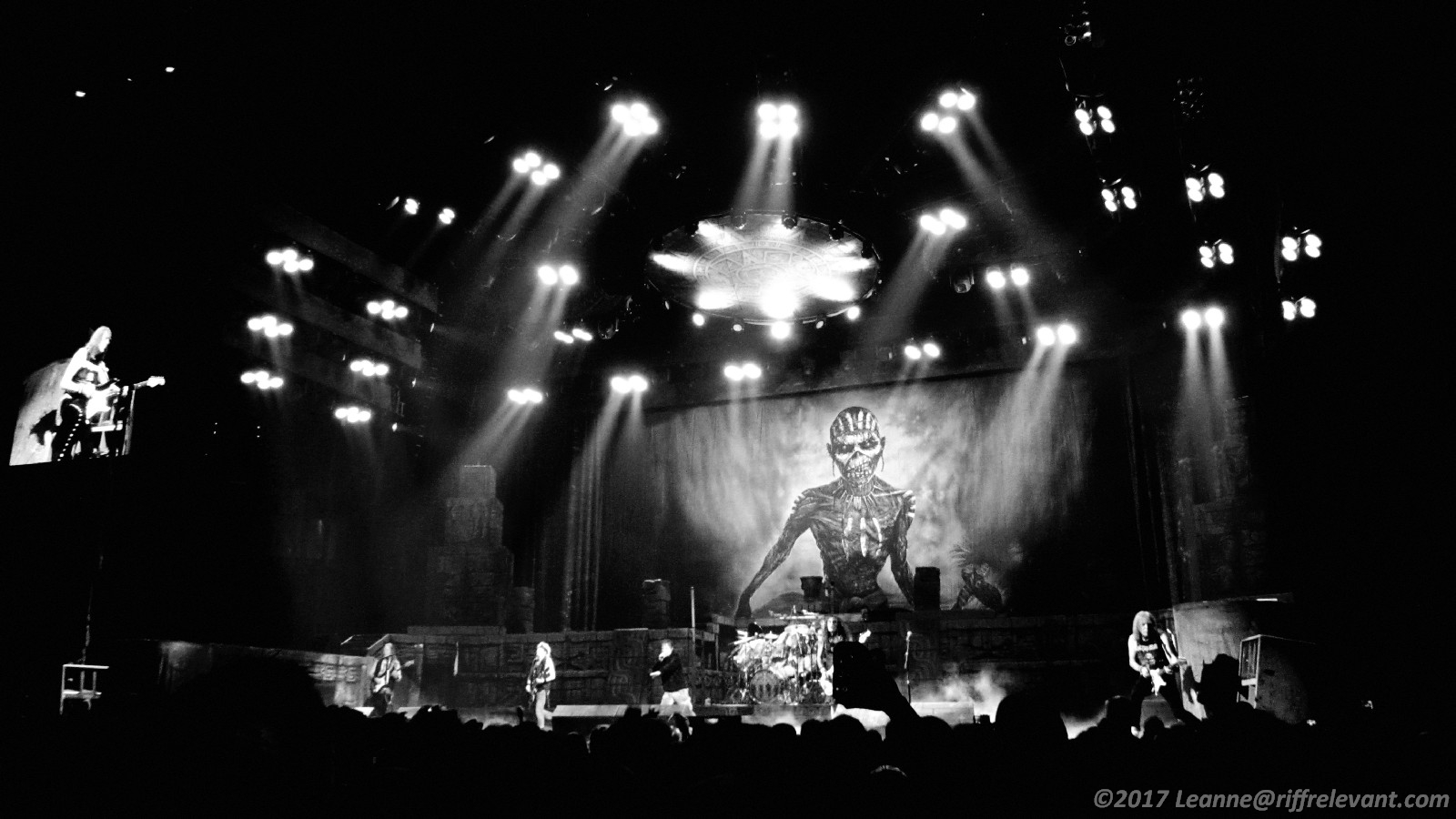 Iron Maiden The Book Of Souls Tour Live Photos Show Review