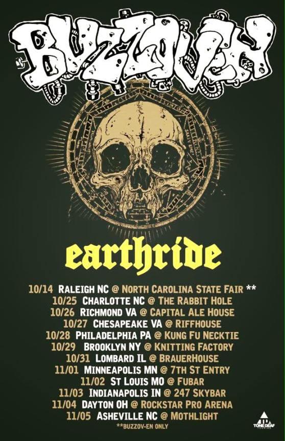 Earthride Buzzoven tour