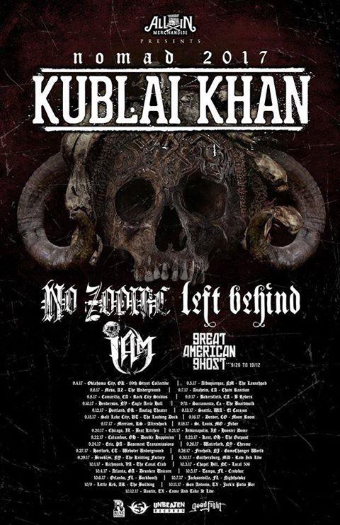 Left Behind Kublai Khan Tour