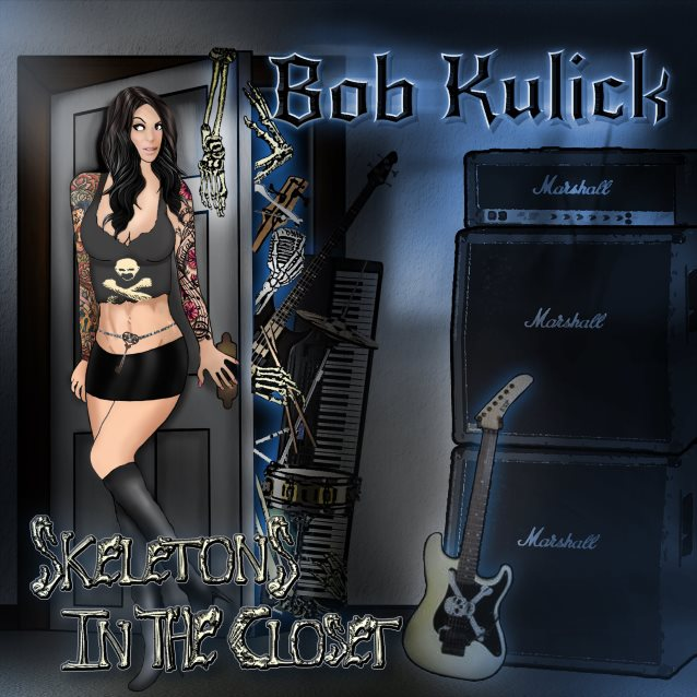 'Skeletons In The Closet' First-Ever Solo Record From BOB KULICK Streaming In Its Entirety