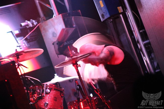 Jon Barrysmith of Year Of The Cobra @ Psycho Las Vegas 2017 (Photo by Leanne)