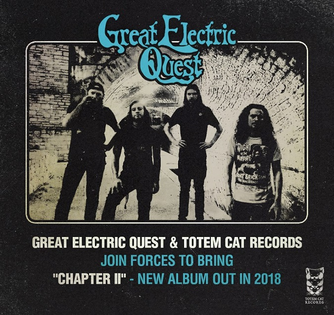 Label Limelight: TOTEM CAT RECORDS Interviewed By Recently Signed GREAT ELECTRIC QUEST; Tour Dates