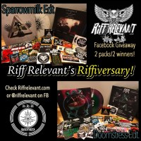 Riff Relevant Anniversary Giveaway! Win a SPARROWMILK / DOOMSTRESS Vinyl Split [D.H.U Records] + More!