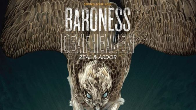 BARONESS & DEAFHEAVEN Set 2019 Co-Headlining N. American Tour; Support From Zeal & Ardor