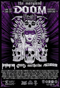 MD Doom Fest 2019 poster