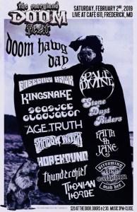MD Doom Fest Doom Hawg Day 02022019