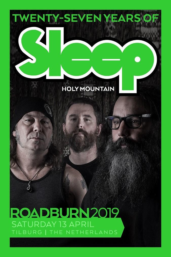 SLEEP Tour Dates [EU & Roadburn Fest] + Spring U S  Tour w