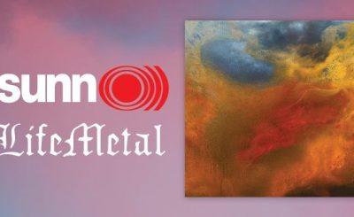 Sunn o))) Life Metal Banner