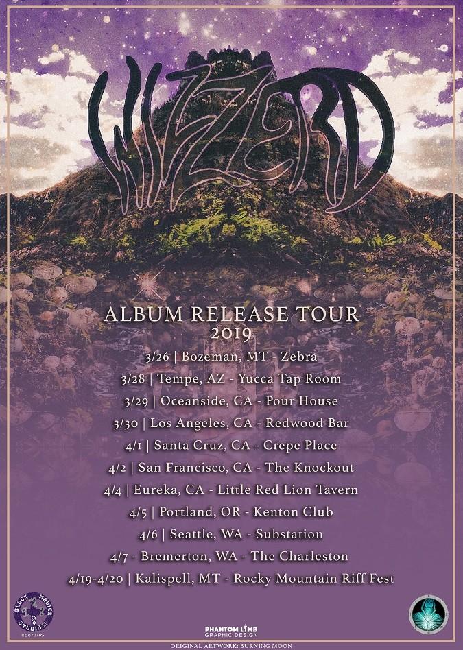 Wizzerd tour poster