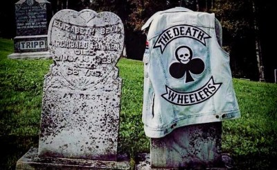 The Death Wheelers vest