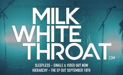 milk white throat logo promo