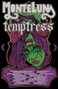 Monte Luna & Temptress Tour 2021 Poster 1