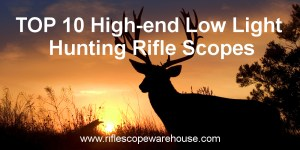 Read more about the article Top 10 High-end Low Light Hunting Rifle Scopes