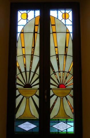 Arredo Sacro realizzazione vetri decorati per chiese e