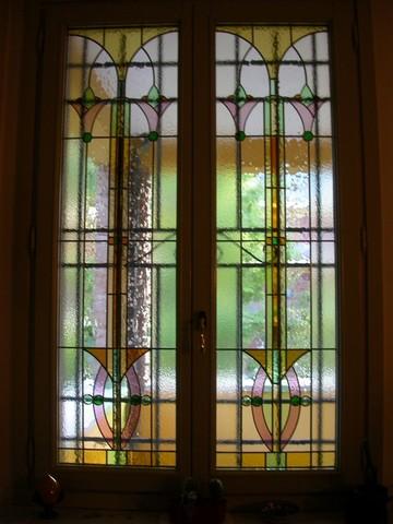 Realizzazione vetrate e vetri artistici decorati per Finestre Portefinestre Modena Emilia