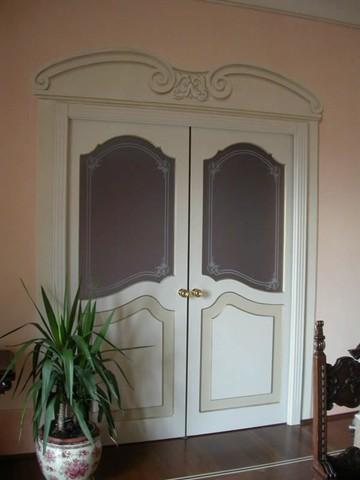 Realizzazione Vetri artistici per porte classiche pitturati rilegati sabbiati Tiffany