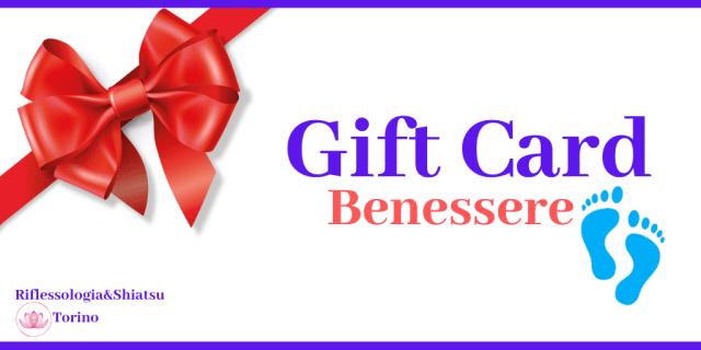 carta regalo trattamenti benessere