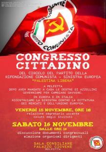 Manifesto congresso 2013