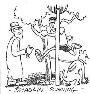 Shaolin running