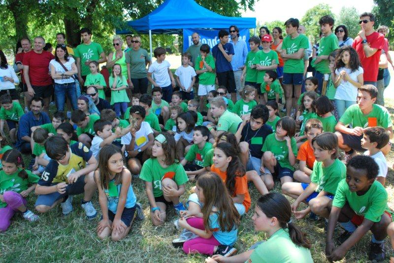 Foto di gruppo al Parco delle Valli