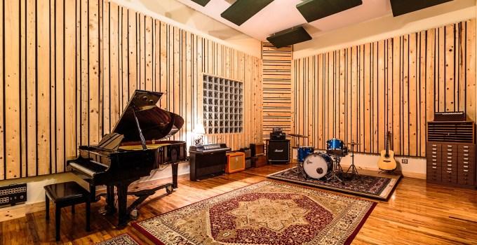 Recording Studio Live Room Design