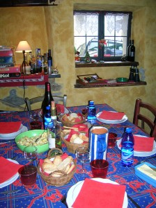 La cucina del Rifugio La Chardous  Rifugio Alpino La Chardous