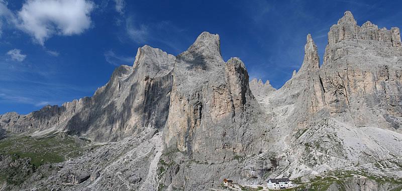 Rifugio Vajolet  Dolomiti  Val di Fassa  Catinaccio