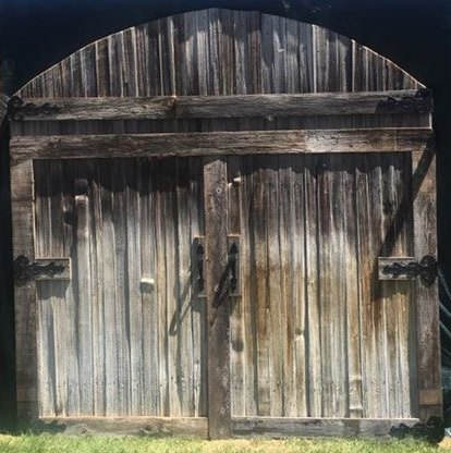 Rustic Barn Door Backdrop Rigby Wedding Rentals