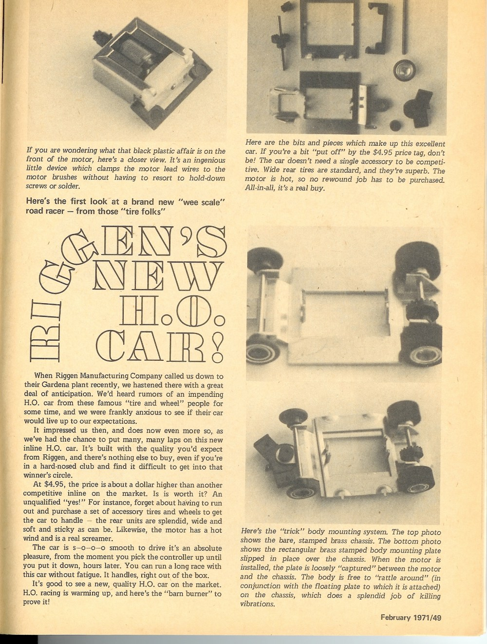 medium resolution of in late 1970 riggen industries of torrance california and later gardena california introduced a new ho scale slot car for competitive slot car racing