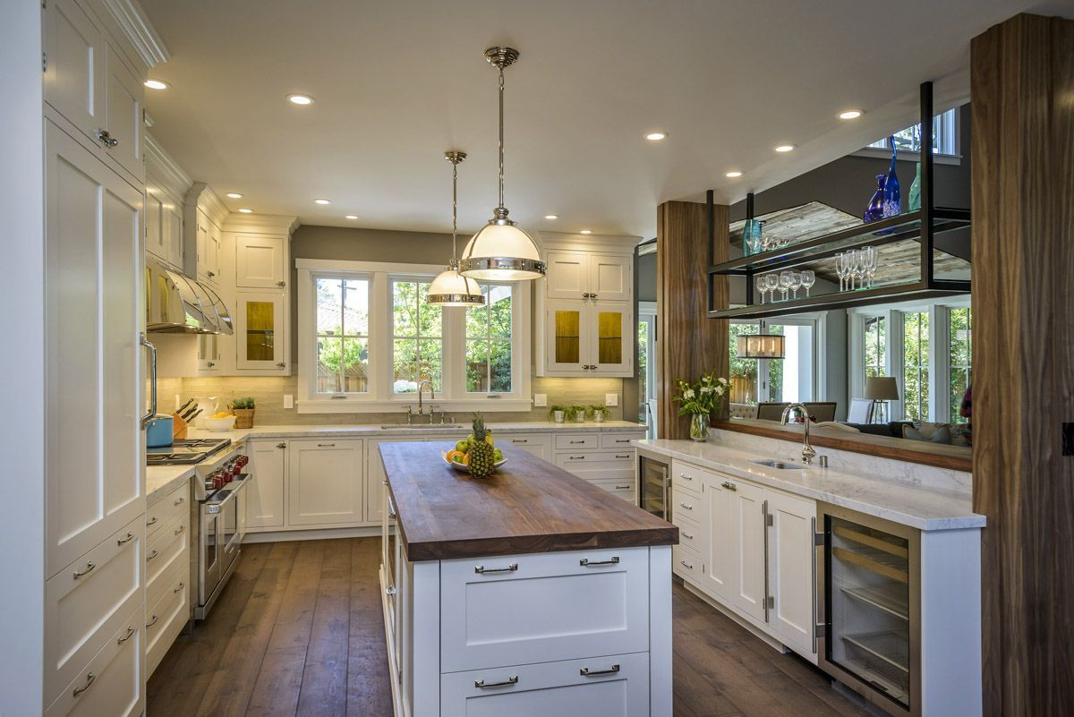 A Kitchen In Balance Eye Catching Family Friendly Design