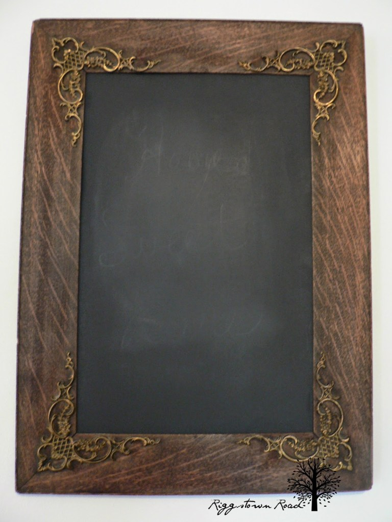 $1/1minute chalkboard-no paint by Riggstown Road