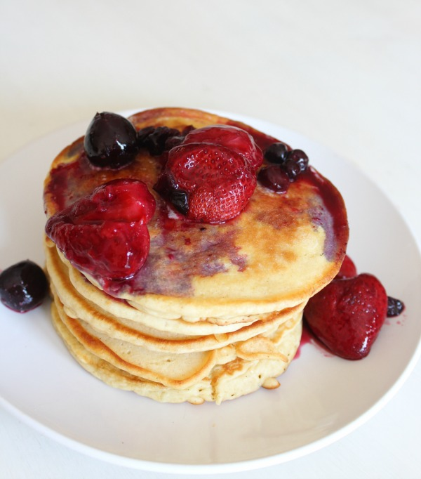 gluten free pancakes by riggstownroad.com
